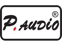 P.Audio Logo